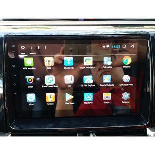 """Android HU 9"""" QuadCore T3 with 2Gb RAM & 32Gb ROM (Unit out of car already)"""