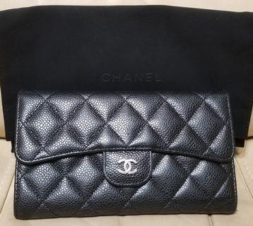 Chanel long wallets