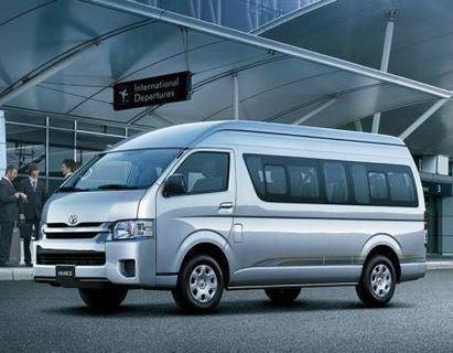 Toyota Hiace Hi-Roof 13 Seater Hari Raya  Personal Driver For Weekends