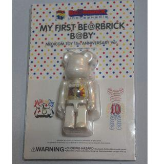 MEDICOM FIRST B@BY BEARBRICK 100%