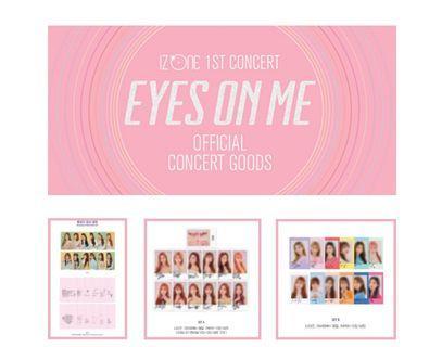 [LOOSE] IZ*ONE 1st Concert : EYES ON ME Official Goods