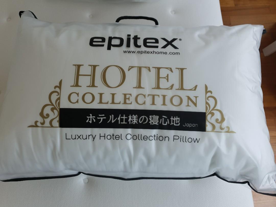 2x super comfort New Pillows (no usage)