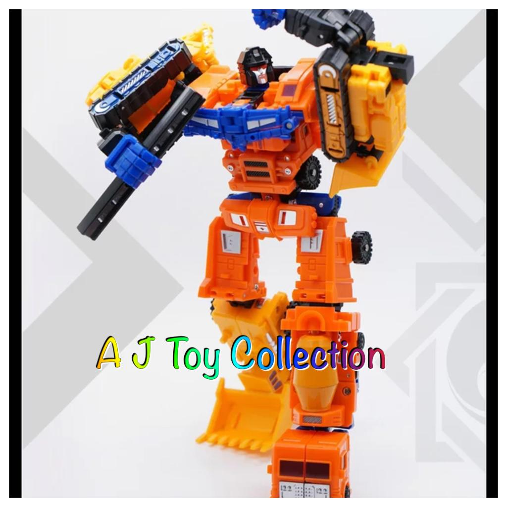 MechFansToys MFT-17D Transformers  Hercules Devastator Set  New