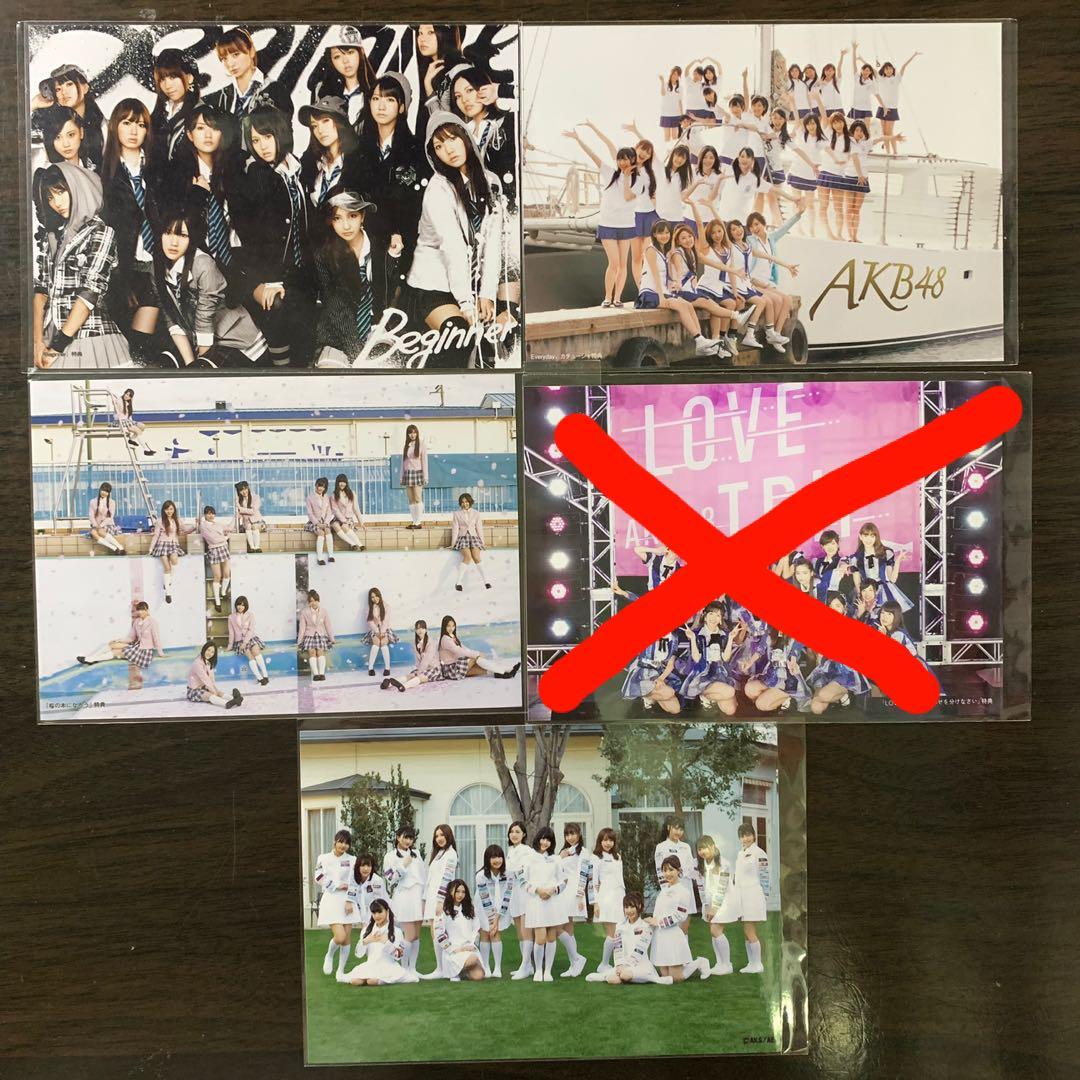 AKB48 SKE48 大合照 特典 生寫