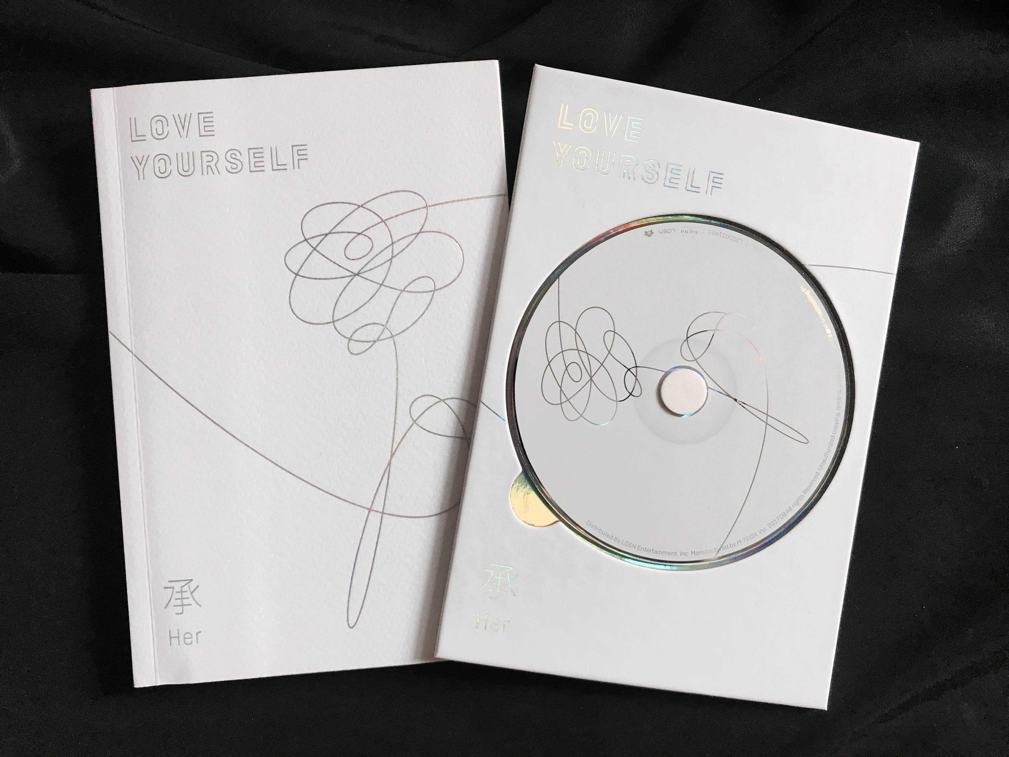 Album BTS Love Yourself : HER Ver. O (+poster)