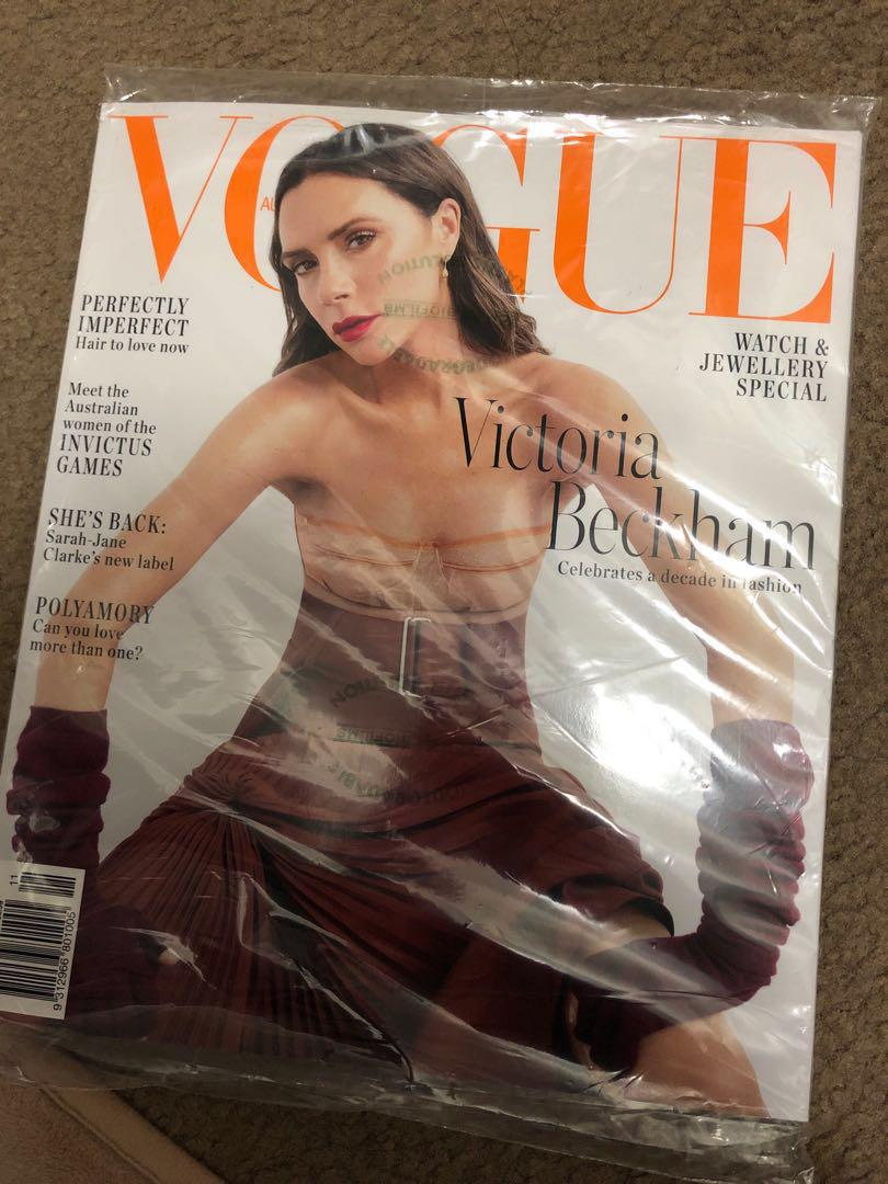 Brand new Vogue magazine Nov18
