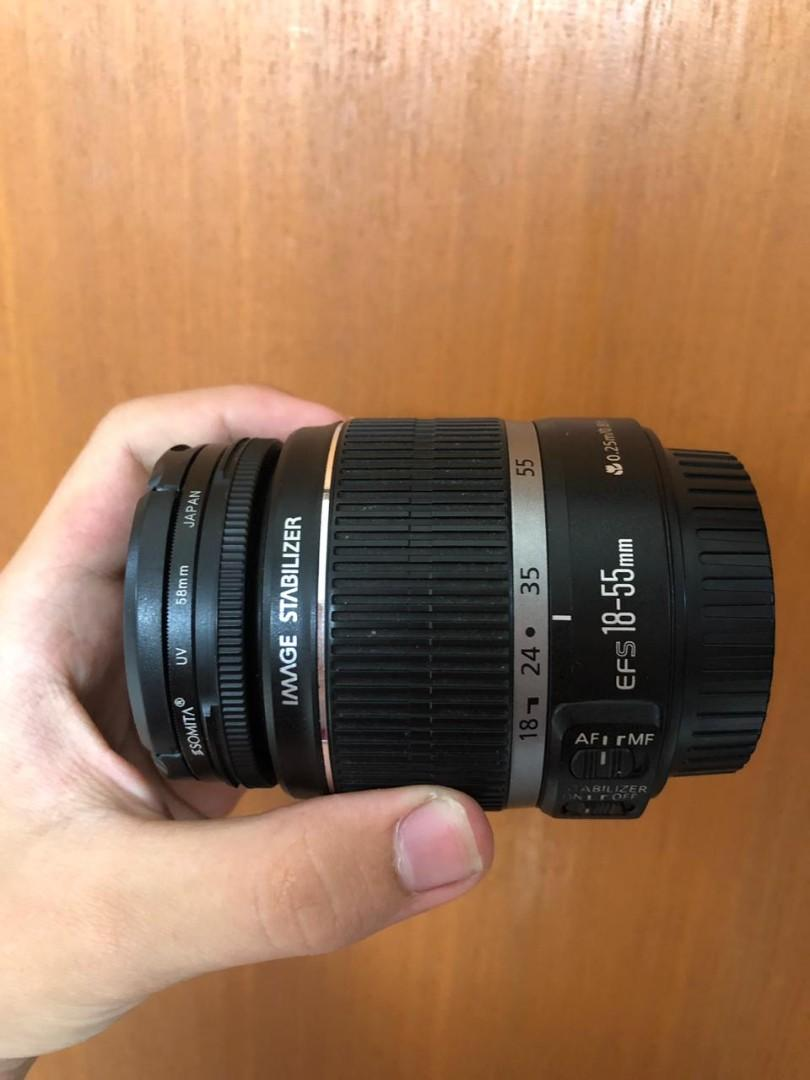 Canon EOS 550D + 18-55mm Lens