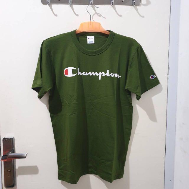 Champion T-shirt Script Logo