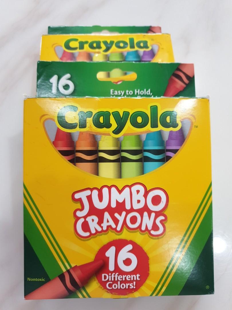 Crayola Jumbo Crayons 16 colours