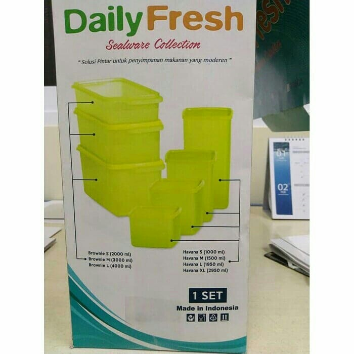 Daily fresh sealware