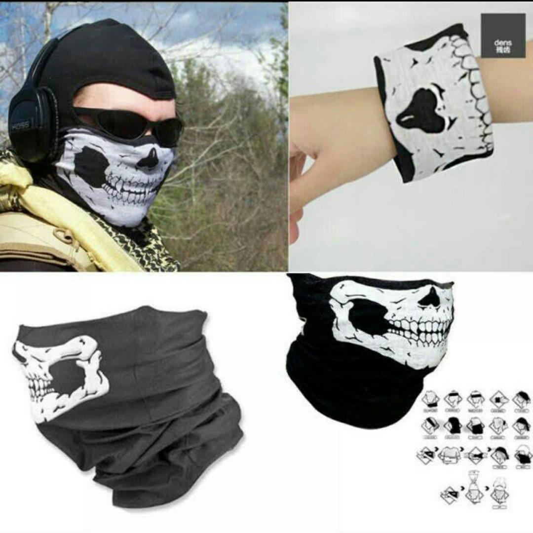 Face Mask for Motorcycle / eBike / eScooter / Scooter