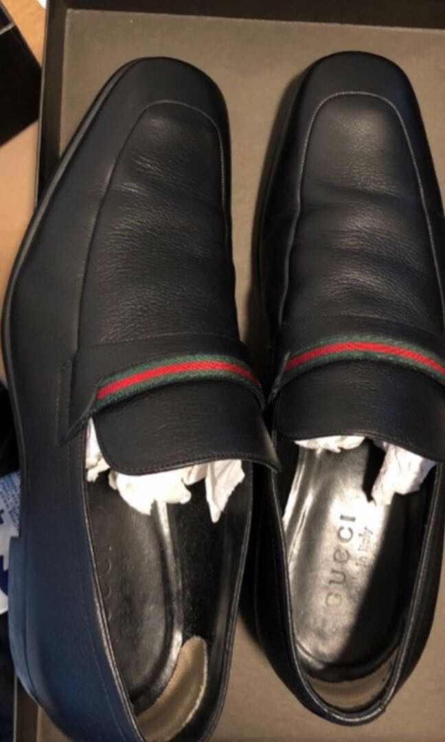 2daeae3b Gucci branded leather shoes men size 40