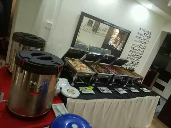 Halal food catering