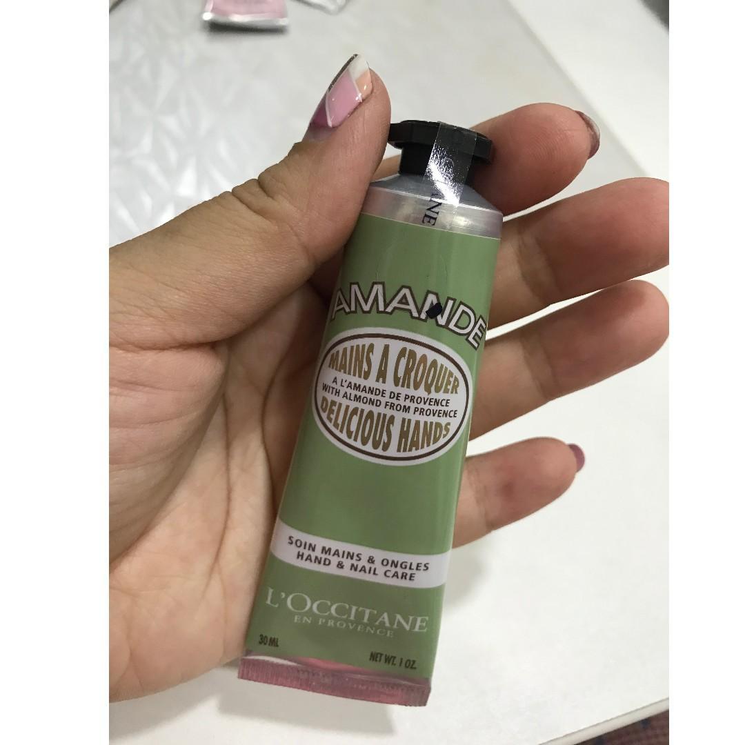Hand and body cream from L'occitane