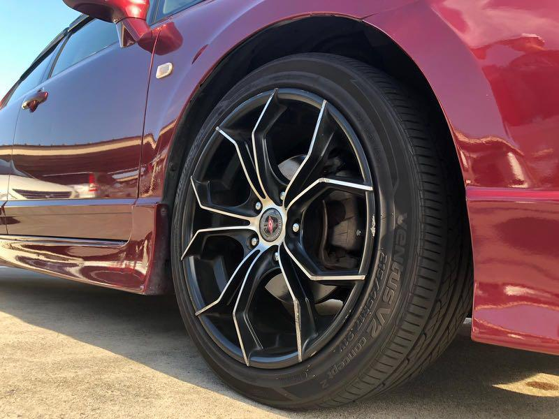 Hari Raya Car Rental Lease Audi A4 Black Honda Civic 1.8 Red BMW 318i Sunroof White