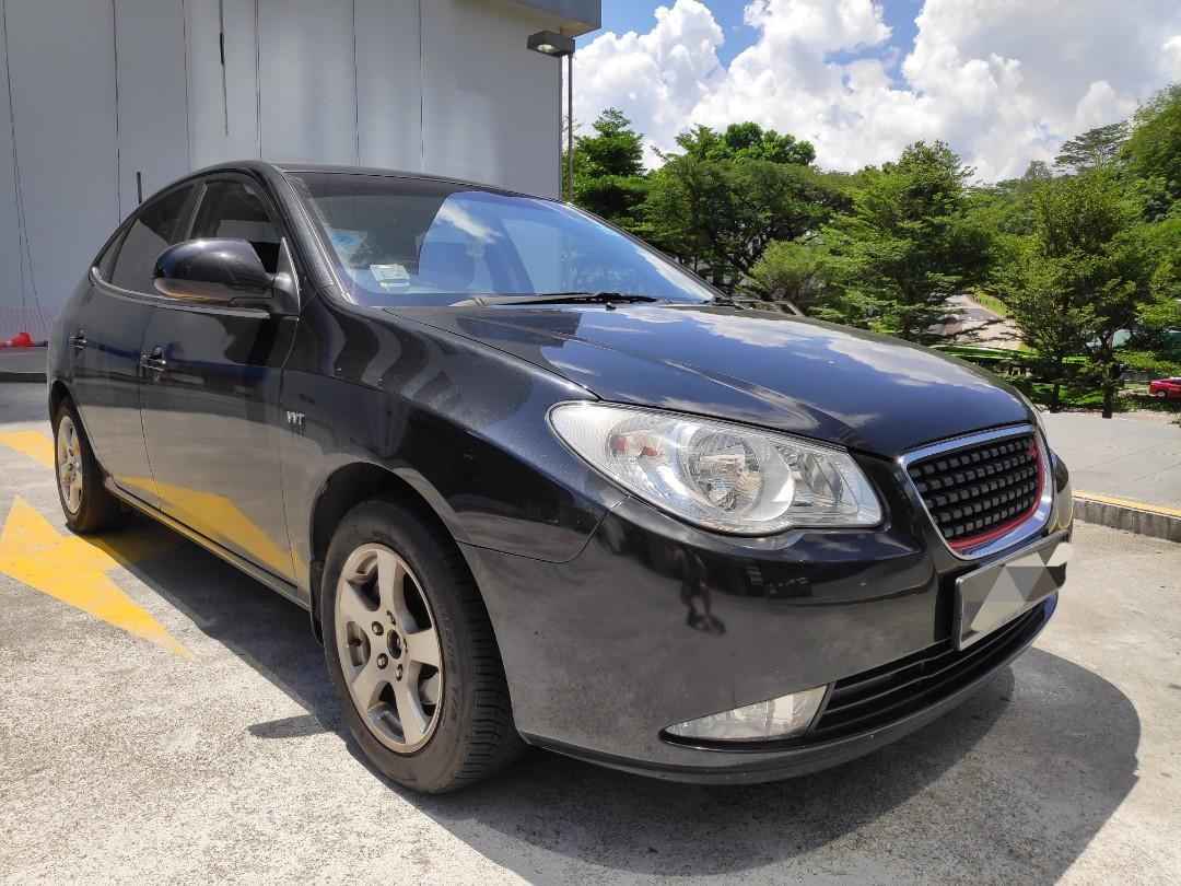 Hyundai Avante For Rent - Grab / Go-Jek / Personal Usage