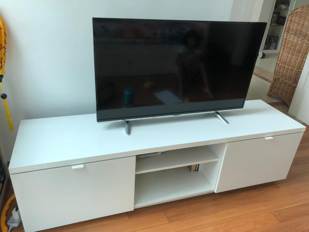 Welp IKEA BYAS TV Bench, Furniture, Tables & Chairs on Carousell BN-06