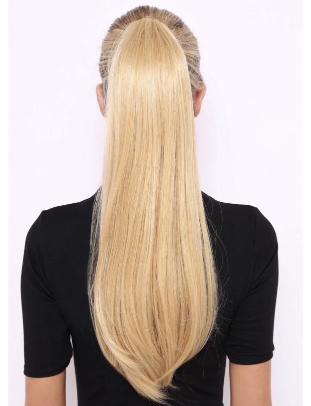 "Lullabellz sleek full-body 22"" ponytail hair extensions"