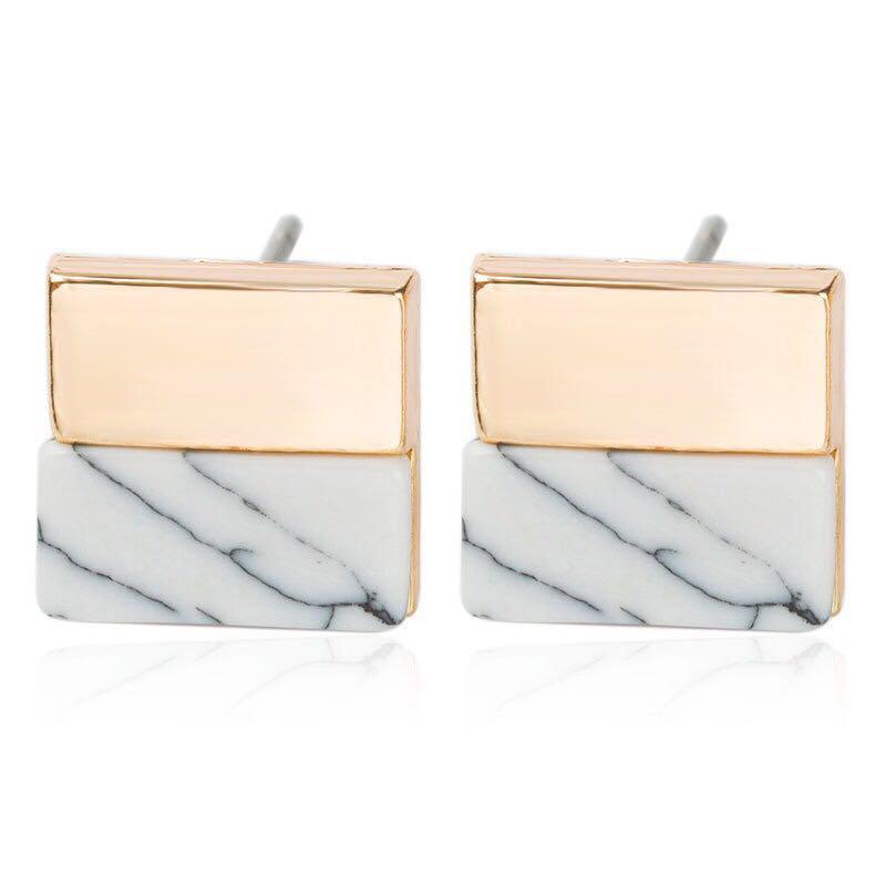 Marble Earrings