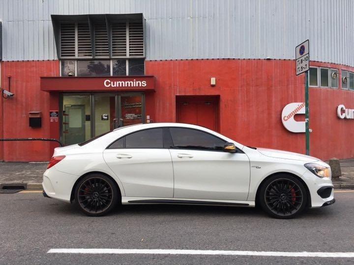 MERCEDES-BENZ CLA45 2015