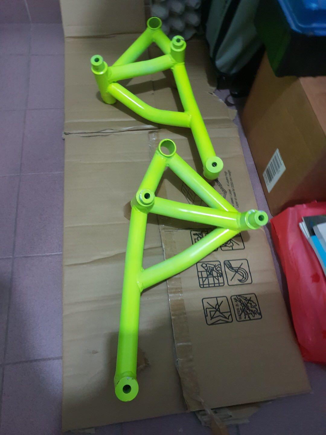 Mt09/ MT-09 stunt protection cage (Fluo yellow) non facelifted model