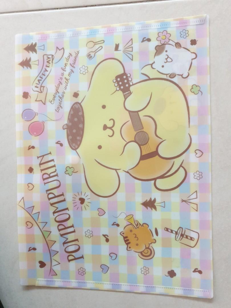 My Melody Pompmpurin A4 folder