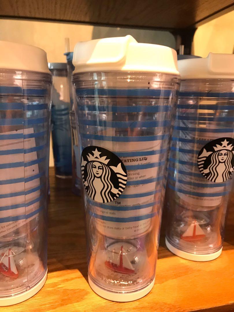 NEW Starbucks Tumbler Nautica