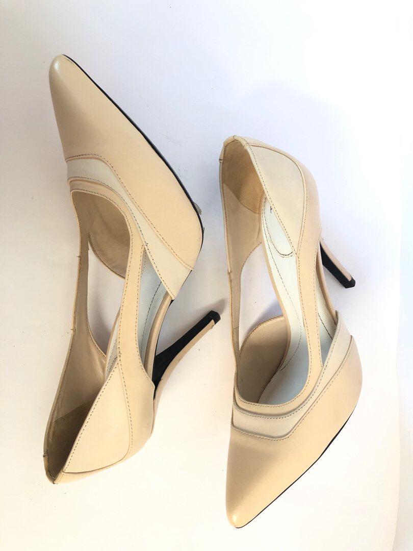 Nude heels PEDRO SIZE 38