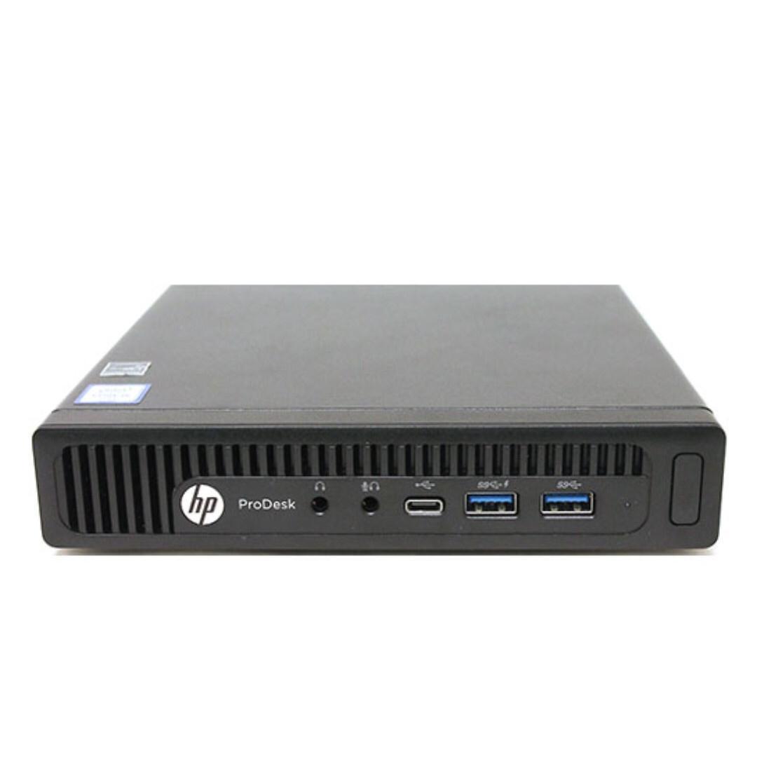 NVMe SSD i7 Mini PC - HP ProDesk 600 G2 Desktop Mini - FIXED