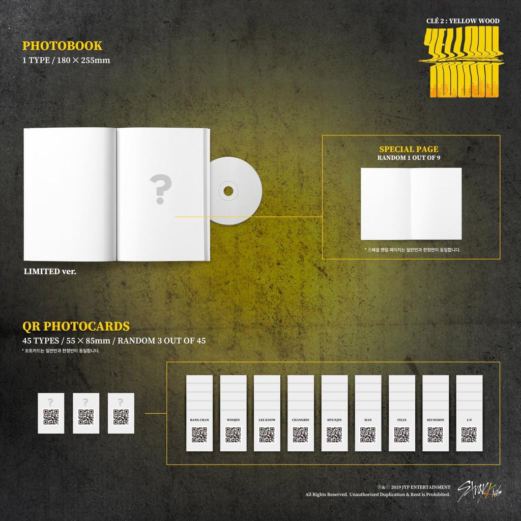[ONE LAST SLOT] Stray Kids <Clé 2 : Yellow Wood> LIMITED version