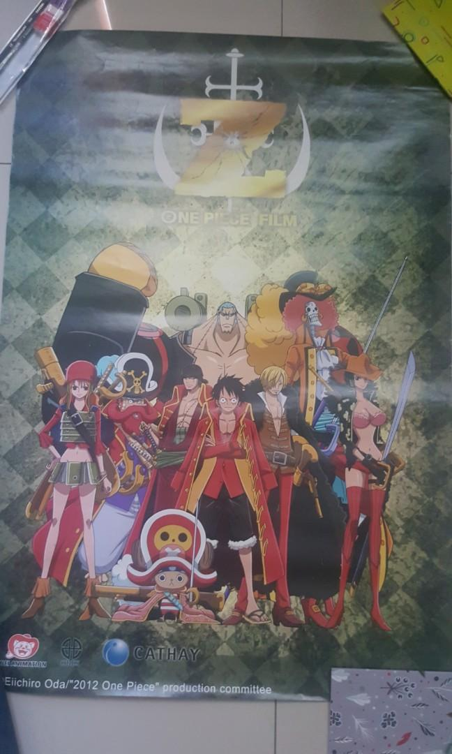 One Piece Z Limited Edition movie Poster