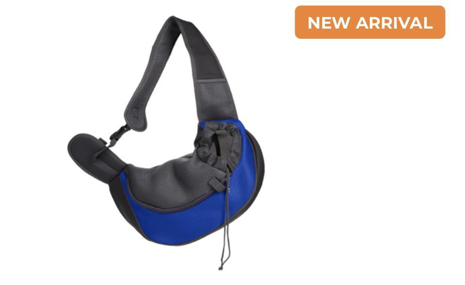 Pet Carrier / Sling Bag (Blue)