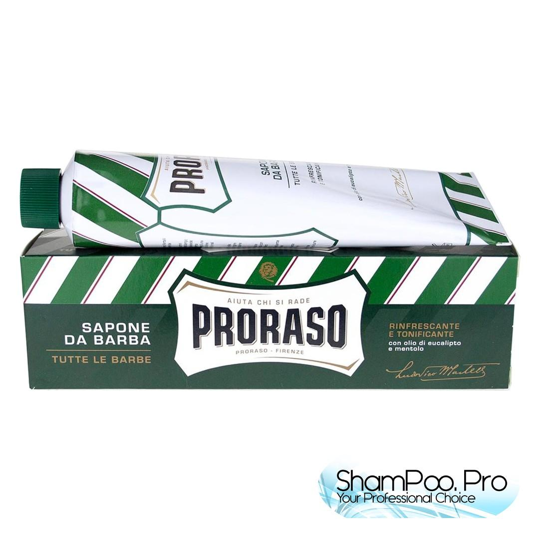 Proraso Green Shaving Cream With Eucalyptus Oil And Menthol Refreshing And Toning Formula 150ML 刮鬍膏(綠色薄荷)