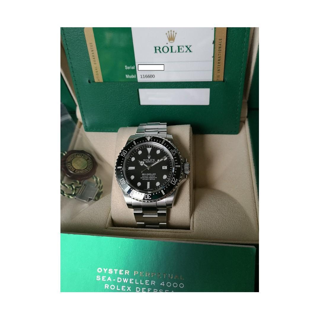 Rolex SeaDweller SD4000 Ref 116600 (Discontinued)