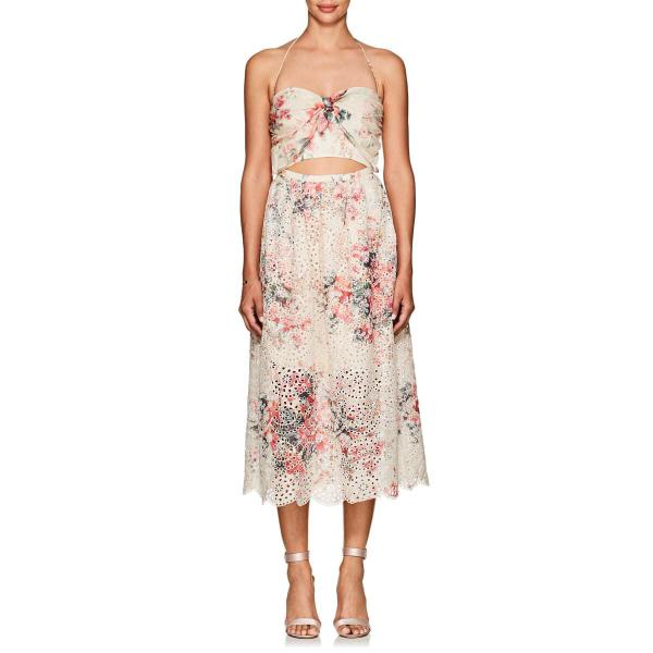 (SIZE 0) LIMITED EDITION BNWT Zimmermann Laelia Floral Tie Dress