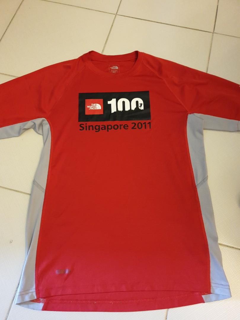 39f6753b4 The North Face Singapore 100km 2011 Run Dri-Fit Tee. Size XS