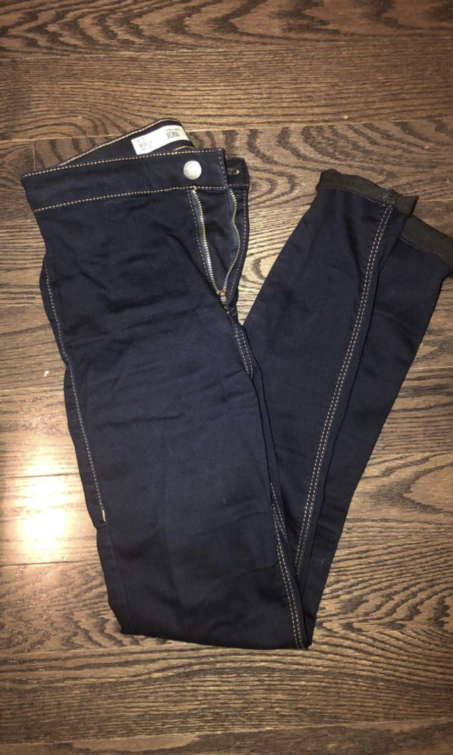 Topshop high waisted Joni skinnies size 26
