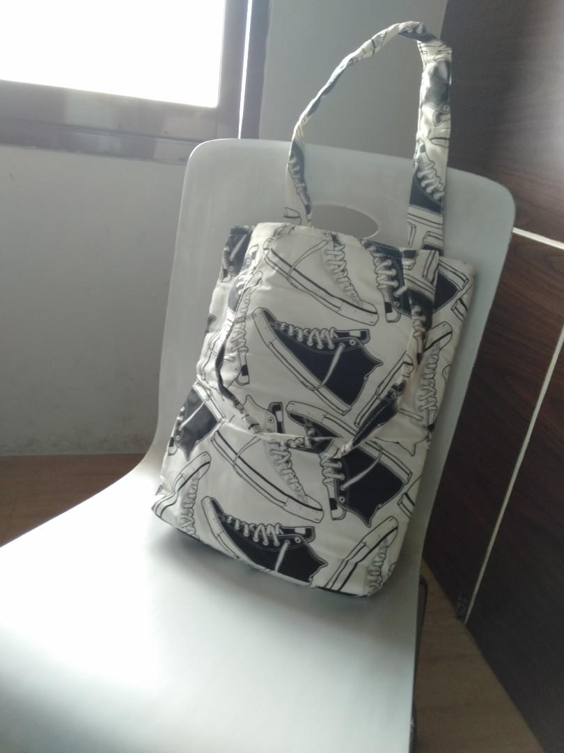 Totebag canvas 'Converse'