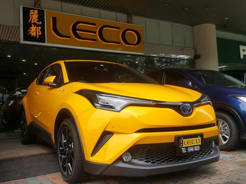 Toyota CH-R 1.8 Hybrid for lease short term Long term rental rent