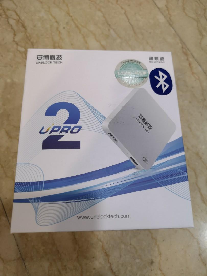 Unblock Tech TV box UPro 2 (Gen 6)