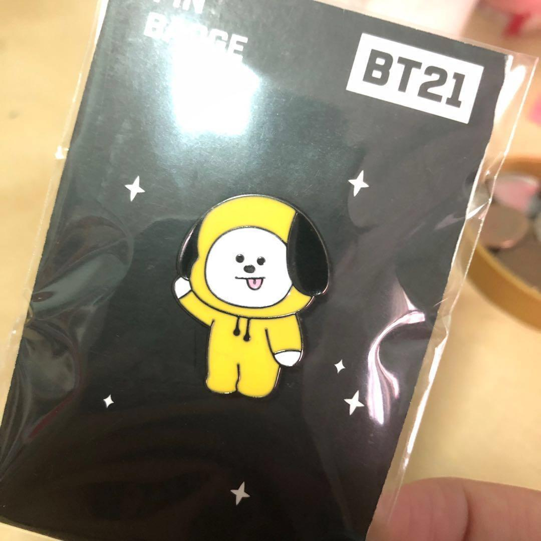 [wts] bt21 chimmy pin badge