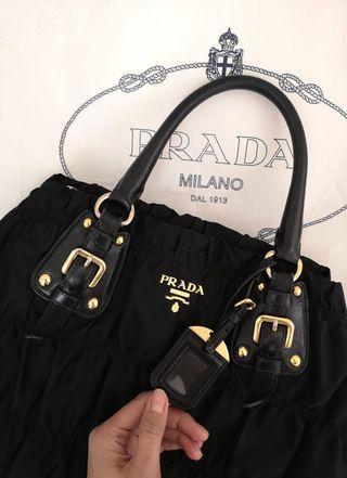 Authentic Prada Handbag in Black