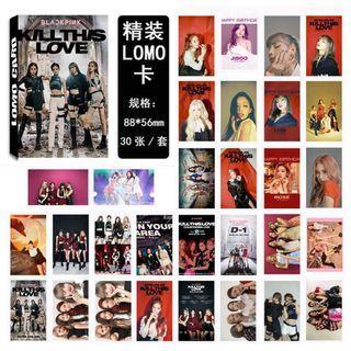 🚚 KPOP BLACKPINK BLINK KILL THIS LOVE Paper Lomo Photocard