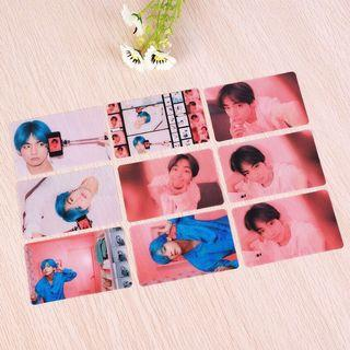 KPOP BTS ARMY PVC Clear Photo Card Poster for 2019 Album Map of The Soul Persona