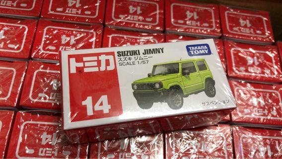 全新日版 Tomica No.14 Suzuki Jimny