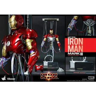先閱文,後發問 Hottoys ironman mark 3  construction version