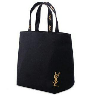 🚚 BNWT YSL logo large Tote Bag