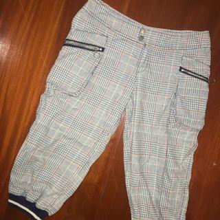 MNG Checkered Pattern Bottoms