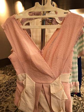 Kimono Pink top