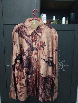 Kemeja Batik Kencana Size M #ramadanbermanfaat